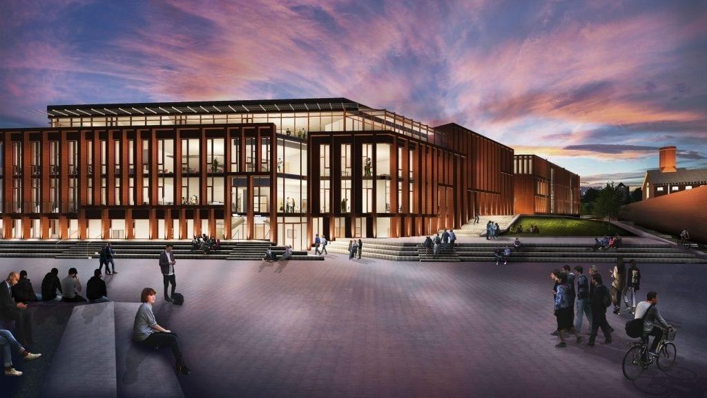 Canterbury Christ Church University building design